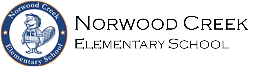 Norwood Creek Elementary School Logo - go home page