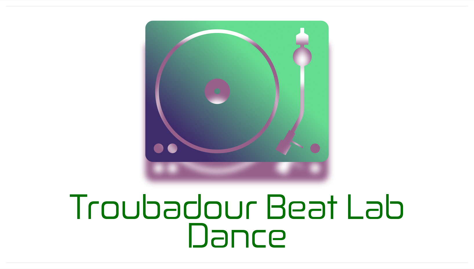 Troubadour Beat Lab Dance Logo