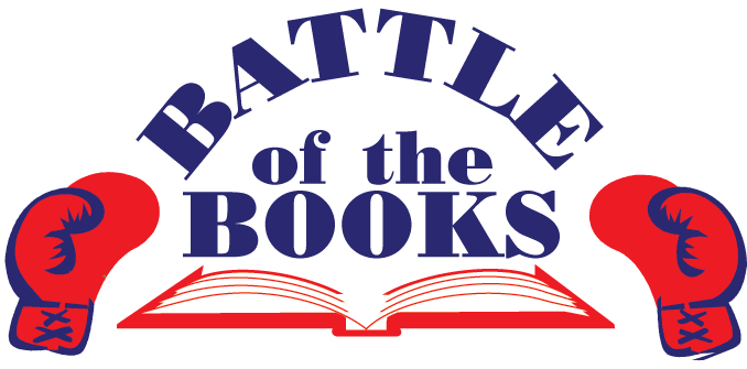 Battle of the Books, boxing gloves, book