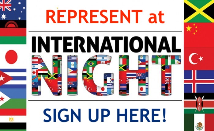 International Night Flags, Sign Up