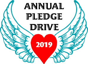 Wings, Heart, Annual Pledge Drive 2019