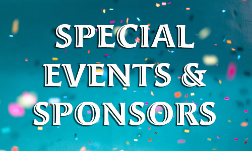 Special Events & Sponsors
